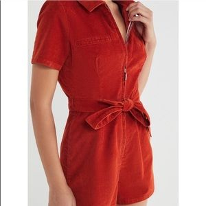 URBAN OUTFITTERS CORDUROY ROMPER